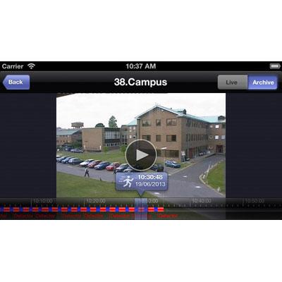 AxxonSoft iOS client v2.0.1 Video Surveillance software