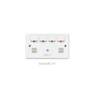 Bell Systems BC-04 4 Zone 'double gang' Indicator Panel
