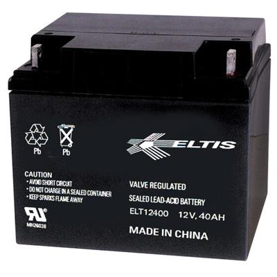 Altronix BT1240 Rechargeable Battery, Sealed Lead Acid (SLA), 12VDC, 40AH