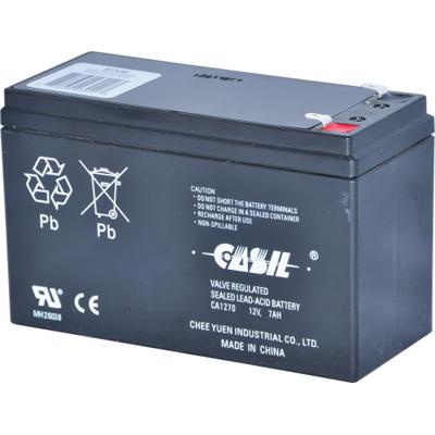 Altronix BT126 Rechargeable Battery, Sealed Lead Acid (SLA), 12VDC, 7AH