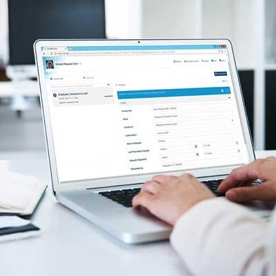 Software House CC9-AWF-LG Access Management Workflow Web-Based Portal