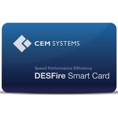 CEM CRD/218/008 DESFire Contactless Smart Card