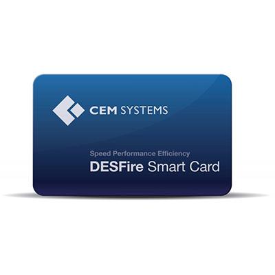 CEM DESFire Pre-personalized Contactless Smart Card