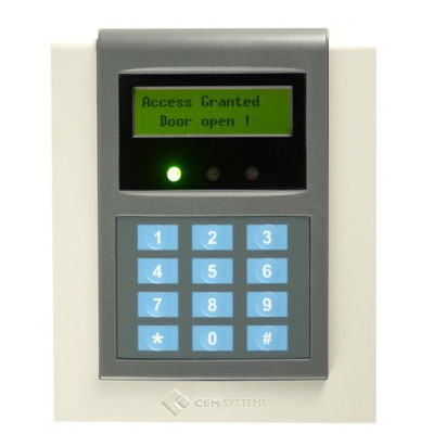 CEM RDR/612/111 Exit Card Reader With PIN