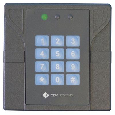 CEM RDR/D10/101 DESFire Reader With Keypad