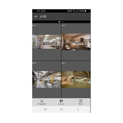 Eneo Center Mobile - Mobile App For IER-25xx, IER- IER-28xx. IER-38xx, IEM-38xx MSR-24xx, MSR-25xx