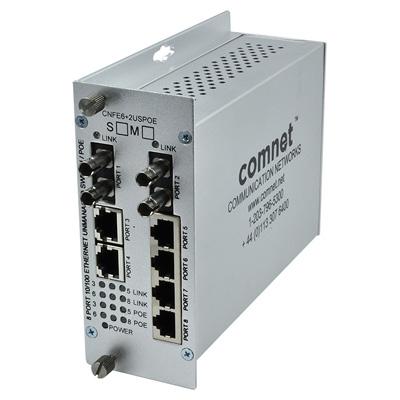 ComNet CNFE6+2USPOE-M Ethernet Self-managed Switch