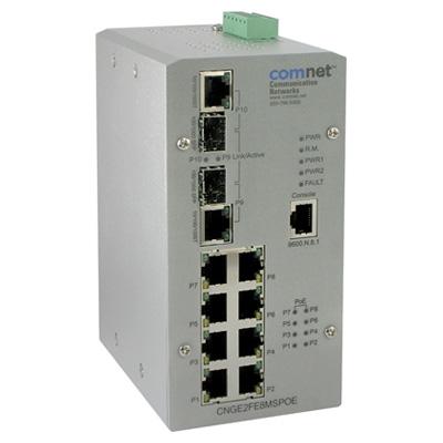 ComNet CNGE2FE8MSPOE Managed Ethernet Switch