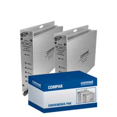 ComNet COMPAK41M1 4-channel Digitally-encoded Video Multiplexer