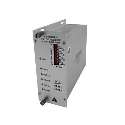ComNet FVT/FVR40D4SFP Optical Video Link