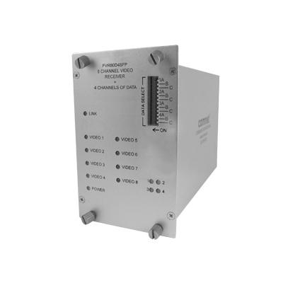 ComNet FVT/FVR80D4SFP Optical Video Link