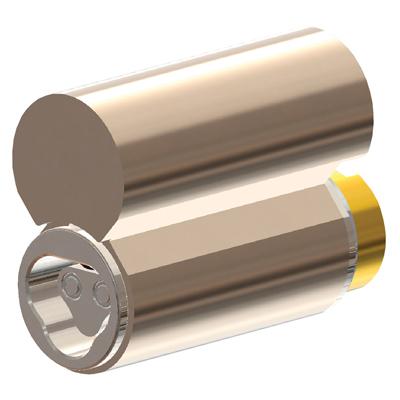 CyberLock CLT-PL4WR Cylinder For Lockwood Padlock, Weather Resistant, Tamper Plug