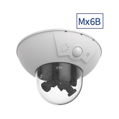 MOBOTIX Mx-D16B-F-6D6N041 D16B Complete Cam 6MP, 2x B041 (Day & Night)