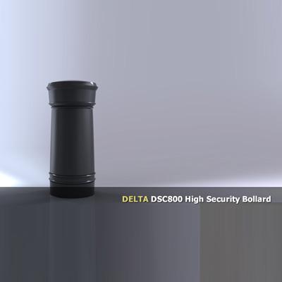 Delta Scientific DSC800 Manual Bollard Barricade System