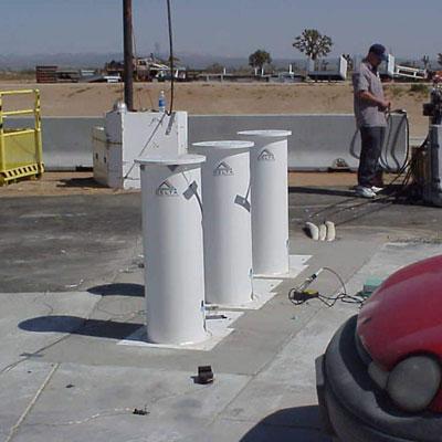 Delta Scientific DSC701 Hydraulic Bollard Barricade System
