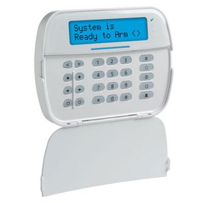 DSC HS2LCDWFPV9 Wireless Full Message LCD 2-way Wire-free Keypad