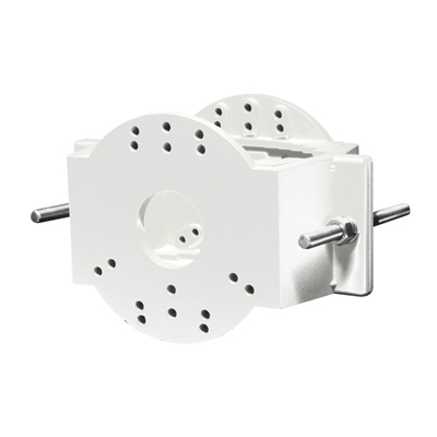 Eneo EDC-PM7-W Pole Mount Adapter For EDC-WMB1-W, White