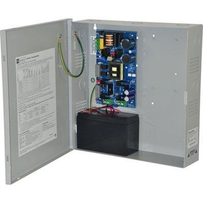 Altronix EFlow102NV Power Supply Charger, Single Output, 12VDC @ 10A, Aux Output, FAI, LinQ2 Ready, 220VAC, BC300 Enclosure