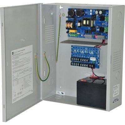 Altronix eFlow102NX8DV Power Supply Charger, 8 PTC Class 2 Outputs, 12VDC @ 10A, Aux Output, FAI, LinQ2 Ready, 220VAC, BC400 Enclosure