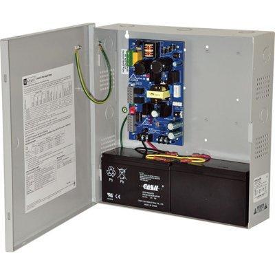 Altronix eFlow3N Power Supply Charger, Single Output, 12/24VDC @ 2A, Aux Output, FAI, LinQ2 Ready, 115VAC, BC300 Enclosure
