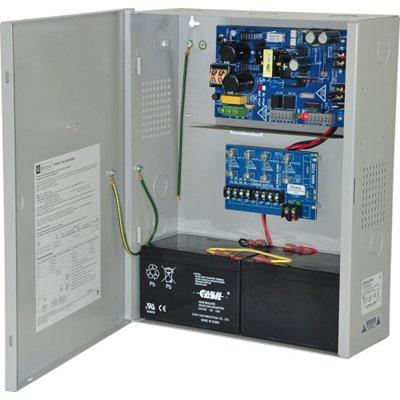 Altronix eFlow3NX4V Power Supply Charger, 4 Fused Outputs, 12/24VDC @ 2A, Aux Output, FAI, LinQ2 Ready, 220VAC, BC400 Enclosure