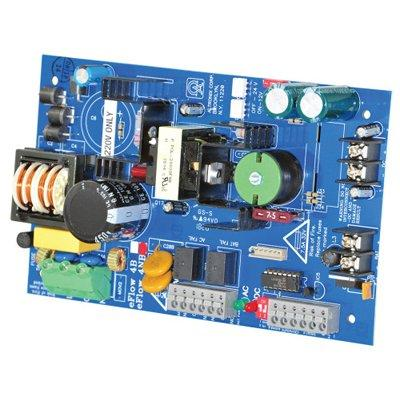 Altronix eFlow4NBV Power Supply Charger, Single Output, 12/24VDC @ 4A, Aux Output, FAI, LinQ2 Ready, 220VAC, Board
