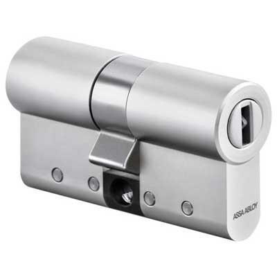 CLIQ - ASSA ABLOY AA-E-N532-SN Single Euro Cylinder