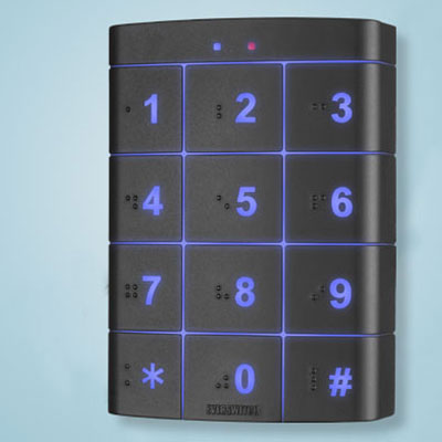 Everswitch ATP2P125 ATP2M13.56 Access Control Reader With Backlit Keypad