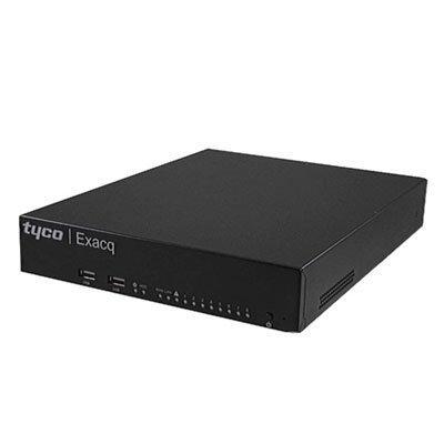 exacqVision G-Series PoE 8-port Network Video Recorder