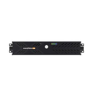 exacqVision IP08-96T-2Z-2 Rackmount 2U IP Recorder