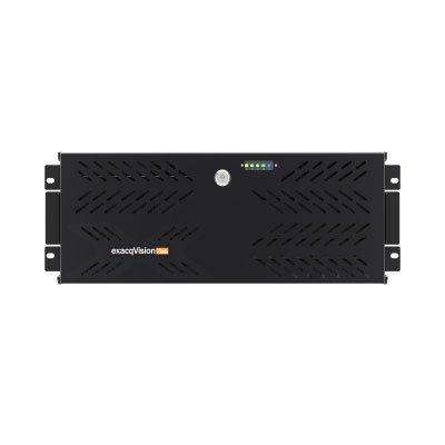 exacqVision IP08-36T-R4Z Rackmount 4U IP Recorder