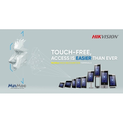 Hikvision Touch-free MinMoe Face Recognition