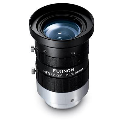 "Fujinon HF6XA-5M 6mm Lens For 2/3"", 5-megapixel Image Sensors"