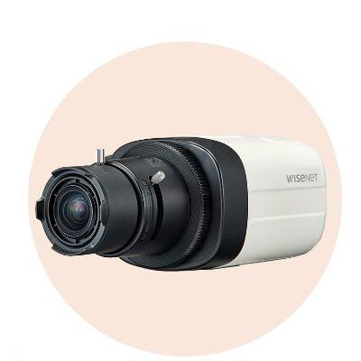 Hanwha Techwin America HCB-7000 4MP Wisenet HD+ Box Camera