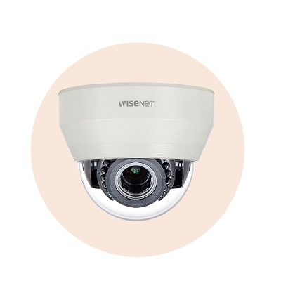 Hanwha Techwin America HCD-7070R 4MP Wisenet HD+ Indoor Dome Camera
