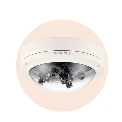 Hanwha Techwin America HCM-9020VQ 1080p 360˚ multi-directional camera