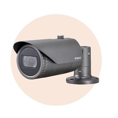 Hanwha Techwin America HCO-6070R 1080p Analog HD IR Bullet Camera