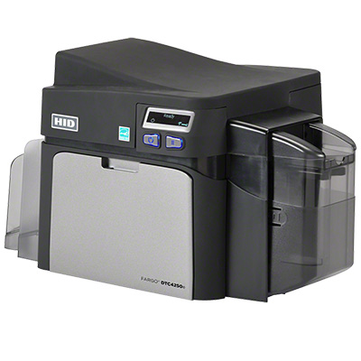 HID DTC4250e ID Card Printer/Encoder Access Card Printer With Embedded Electronics