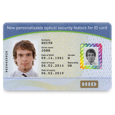 HID VanGo Custom Cards For Personalized One-2-one Visual Security