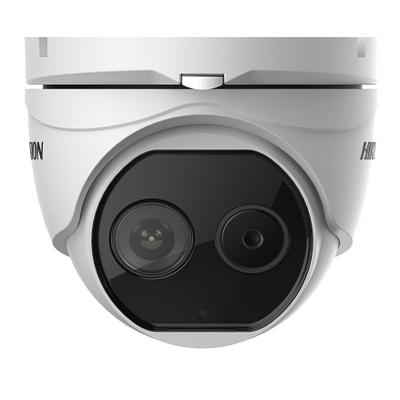Hikvision DS-2TD1217-6/V1 Thermal & Optical Network Turret Camera