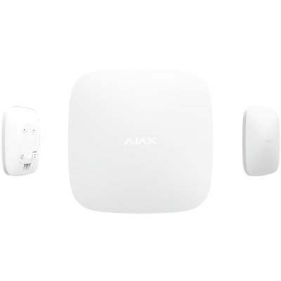 Ajax Hub Plus second-generation intelligent control panel