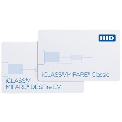 HID PET/PVC - 243 Multi-Technology Dual High Frequency Card