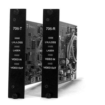 IFS B706V Fiber Optic Video Transmitter and Receiver