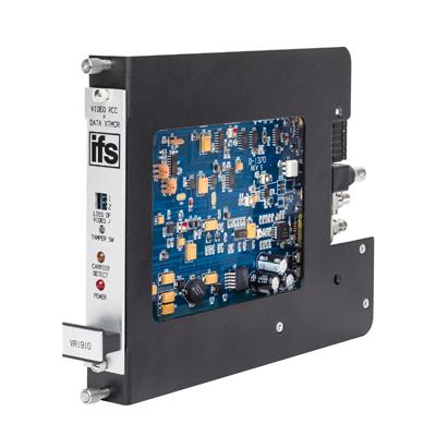 IFS DFR-R3-1 1 Slot Fiber Optic Card Adaptor