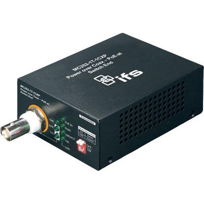 IFS MC252-1P-1CX Power Over Coax Media Converter