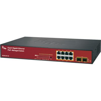 IFS NS3502-8P-2S 8 Port Gigabit PoE+ Managed Switch