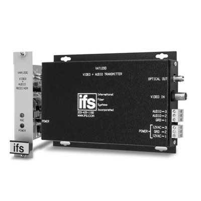 IFS VAT/VAR1200 Video Transmitter with One-Way Audio