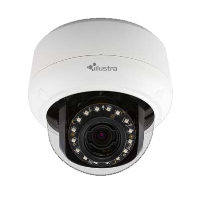 Illustra IPS03D2OCWTT 3MP HD Outdoor IP Mini-Dome Camera