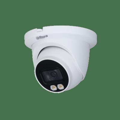 Dahua Technology IPC-HDW3249TM-AS-LED 2MP Full-color Warm LED Fixed-focal Eyeball WizSense Network Camera