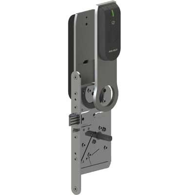 ASSA ABLOY - Aperio™ L100 FIN Electronic Lock with RFID-Reader Plate